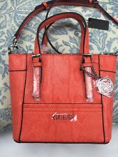 "Guess handbag crossbody Shoulder Mini Bag 6.5""x9"" Sunset 100% Authentic NEW$129"
