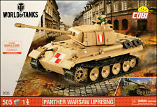 COBI PzKpfw V Panther 'Pudel' (3035) - 505 elem. - Polish Home Army medium tank