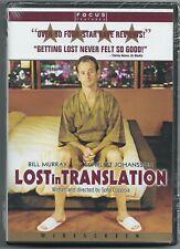 Lost In Translation New Factory Sealed Dvd 2003 - Bill Murray Scarlett Johansson