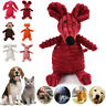 US Dog Chew Toy Squeaky Plush Dog Toy for Aggressive Toys with Chew Pet Toys
