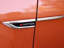 Emblem 4 Motion Fender Side Grille Leisten 4 Stück für VW T-Roc 2017 2018