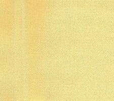 25ct DMC E/W cruz puntada tela amarillo oro bajo un cuarto Gordo 48 X 71cm