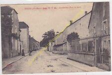 CPA 52120 bricon grande rue bout du Haut edit dangeville 1915