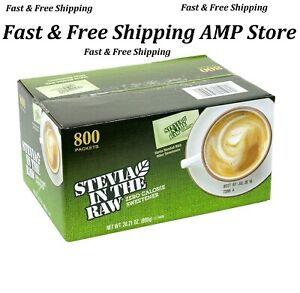 Stevia in the Raw, Packets (800 ct.) Fast Free Shipping