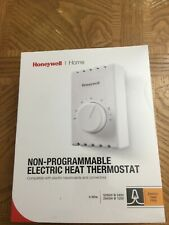 Honeywell Non-Programmable Electric Heat Thermostat CT410B