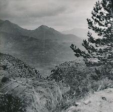 COL DE BRAUS c. 1920 - Panorama vers Sospel  Alpes-Maritimes  - DIV8666