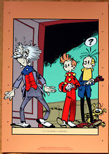 FRANQUIN • SPIROU • SÉRIGRAPHIE • ARCHIVES INTERNATIONALES • 1990 • NEUF