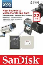 SANDISK HIGH ENDURANCE MICRO SDHC SD 32GB 32G 32 G GB MEMORY (QQ) CARD A