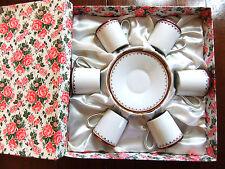 Coffret service à café Seltmann Weiden Bavaria - porcelaine Bavière vintage