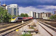 PHOTO  VAUXHALL RAILWAY STATION. DOWN EUROSTAR 2007