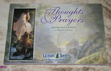 LEANIN TREE Thoughts & Prayers #90615~All with Scripture~20 GREETING CARD ASSTMT