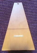Vintage Seth Thomas De Maelzel E873-006 #10 Wood WindUp Metronome Flawless