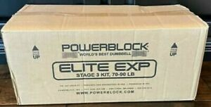 NEW POWERBLOCK EXP Stage 3 Kit 600-00184-00 Exercise Workout Fitness Gym Set