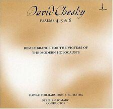 David Chesky - Psalms 4 5 & 6 [New CD]