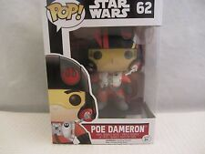 "Funko Pop! POE DAMERON 4"" Star Wars  #62 vinyl Figurine (1215SH)"