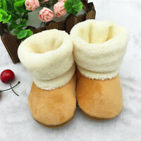 Infant Baby Girls Boys Winter Booties Slippers Warm Anti Slip Snow Boots Shoes