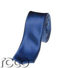 Chicos Royal Blue lazos, Azul patrón de la serpiente, Chicos formal lazos, Chicos Skinny Lazos
