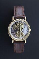 Walking Liberty Half Dollar Watch Genuine Leather