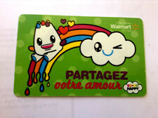 LIMITED GIFT CARD FROM WALMART SHARE YOUR LOVE BILINGUAL NO VALUE *new*