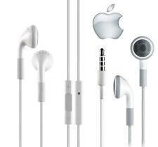 Genuine Headphones Handsfree iPhone 4,4S,IPad,iPod Earphones New With Mic Remote