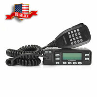 US Leixen VV-898E VHF UHF 136-174/400-480MHz 25W Car Mobile Radio Transceiver