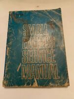 1969 Small Engines Service Manual Ninth Edition Intertec Technical Publications