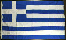 Greece Vintage Greek Cotton Flag 149x91cm Made by Coconis