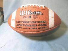 Vintage Wilson The First Bcs College Championship Game 1999 souvenir Football
