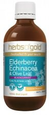 Herbs of Gold ELDERBERRY ECHINACEA & OLIVE LEAF 100ml
