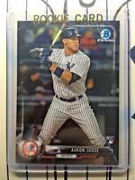 AARON JUDGE RC 2017 Bowman Chrome Baseball # 56 Rookie New York Yankees QTY