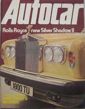 Autocar magazine 26/2/1977 featuring Morris road test, Rolls Royce, McLaren