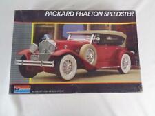 Monogram Packard Phaeton Speedster 1/24 Model Car Kit 2308- New Open Box