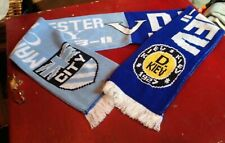 Manchester City FC v Dinamo Kiev Europa League JACQUARD SCARF - POSTFREE to UK