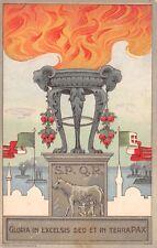 2782) WW ITALO TURCA, COMMEMORATIVA PRO FAMIGLIE MORTI E FERITI IN AFRICA.
