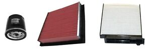 For Nissan Note E11 1.4 2006-12 New Oil Cabin/Pollen Air Filter Service Kit Set
