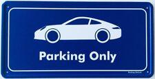 Parking Only - Porsche 911 / 991 - Aluminium Schild
