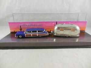 Scarce Hot Wheels Airstream Dream Vehicle Set 1959 Cadillac Eldorado Woody