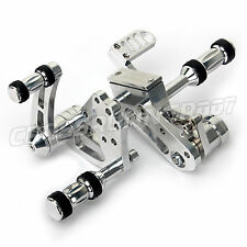 Polished Forward Controls Foot Pegs for Harley Davidson SOFTAIL 1984-1999