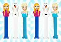 6 Disney's Frozen Set PEZ Dispensers Elsa, Anna & Olaf LIMITED EDITION