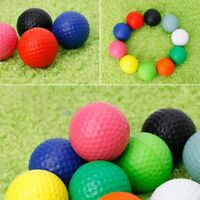 1/10 x Professional Practice Golf Balls Course Play Toy Indoor Outdoor Training
