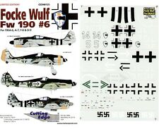 CUTTING EDGE MODELWORKS CED48128 - DECALS 1/48 F-100C Pt. 1