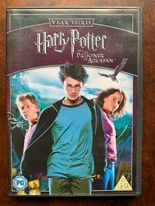 Harry Potter et Le Prisonnier D'Azkaban DVD 2004 An 3 Sorciers World 1 Disque
