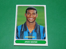 N°85 ARON WINTER INTER CALCIO PANINI EUROPEAN FOOTBALL STARS 1996-1997