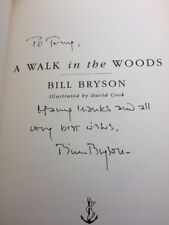 A Walk in the Woods by Bill Bryson  SIGNED COPY