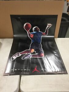 "Vintage Michael Jordan Nike ""RETURN FLIGHT"" Poster 1995 MAKE OFFER!"