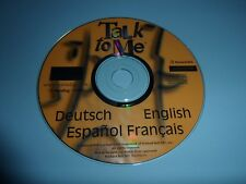 TALK TO ME ENGLISH DEUTSCH ESPANOL FRANCAIS PACKARD BELL CD