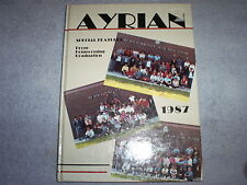 1987 Mt. Ayr High (Iowa) Ayrian Yearbook Annual - Perfect!