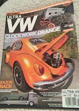 Ultra Vw Magazine Apr 2014 Clockwork Orange Turbo Bug, Razor Back Transporter