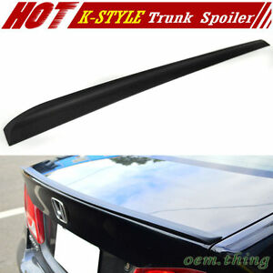 Fit FOR ACURA CL S-Type 2D Coupe K Style Rear Trunk Boot Lip Spoiler 01-03