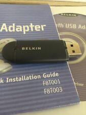 Belkin F8T003 Bluetooth USB Adapter - 10 Meters